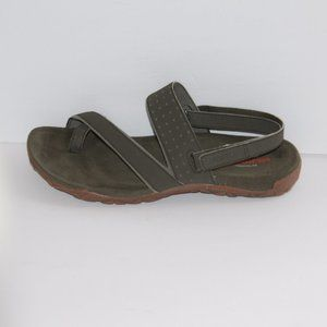 Merrell dusty olive sandals Women size 11